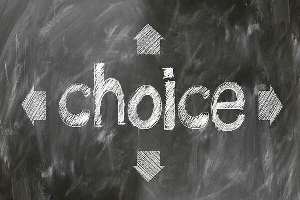Choice選ぶ