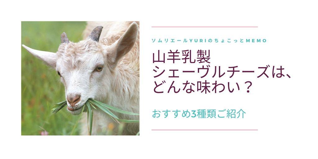 山羊チーズシェーブルチーズの種類