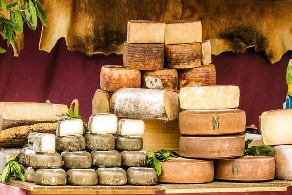 シェーブルチーズ山盛り