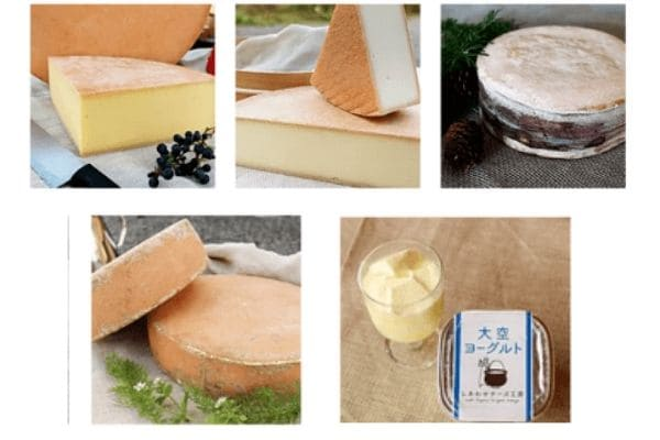 しあわせチーズ工房の商品