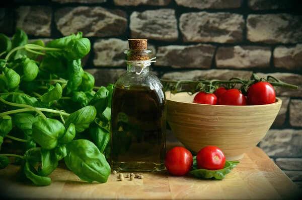 トマトとオリーブオイル