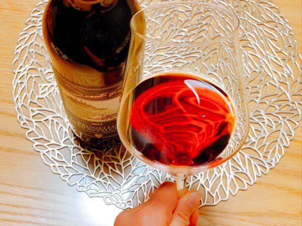 ワイヤードビーンズのワイングラス