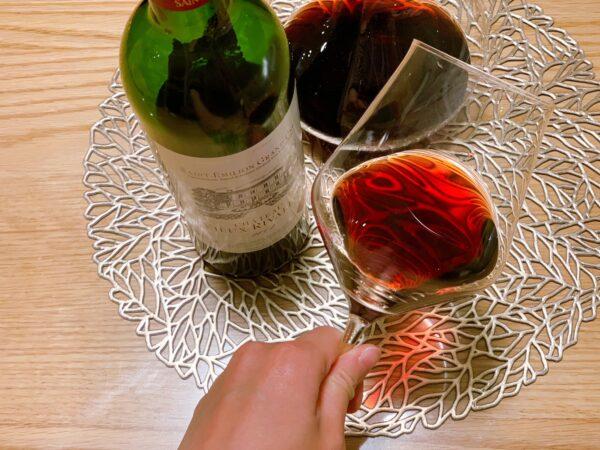 ワイヤードビーンズワイングラス