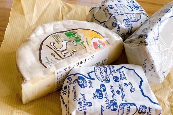 サングレと複数のチーズ